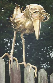 Holger - Plastik (Bronzeblech getrieben)