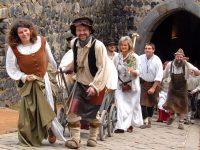 Burgfest auf der Burg Stolpen